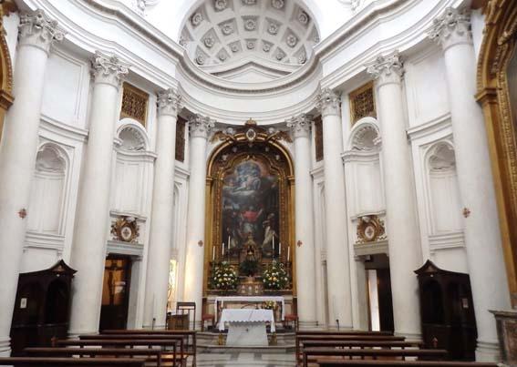 Eglise saint charles aux quatre fontaines for L interieur d un couvent