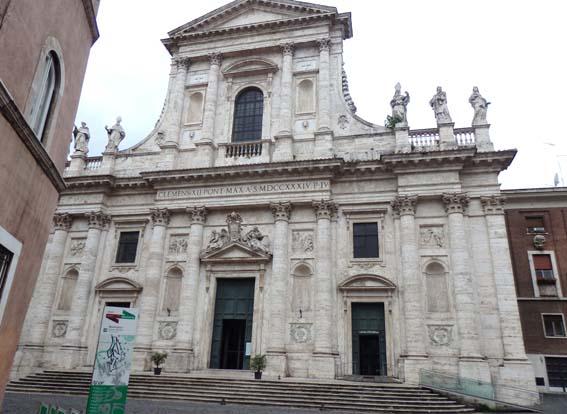 2 architecture et art baroque rome for Architecture quattrocento