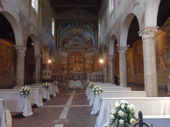 Rome Chrétienne et ses monuments - EUGENE DE LA GOURNERIE - 1867 Nef-Saints-Nero-Achilleo